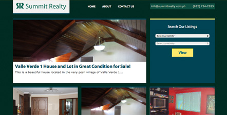 Summit Realty Web Design and Development